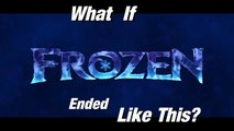 What If Disney Frozen Ended Like This | Frozen Alternate Ending | how frozen should have e