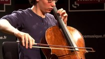Haydn : Edgard Moreau et Pierre-Yves Hodique interprètent le premier mouvement du concerto en Ut M |Le live de la Matinale