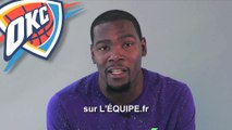 Basket - NBA - Teaser : Kevin Durant vous invite à suivre la NBA sur L'Equipe.fr !