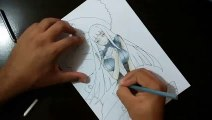 Speed Drawing Naruto and Hinata (Naruto The Last)