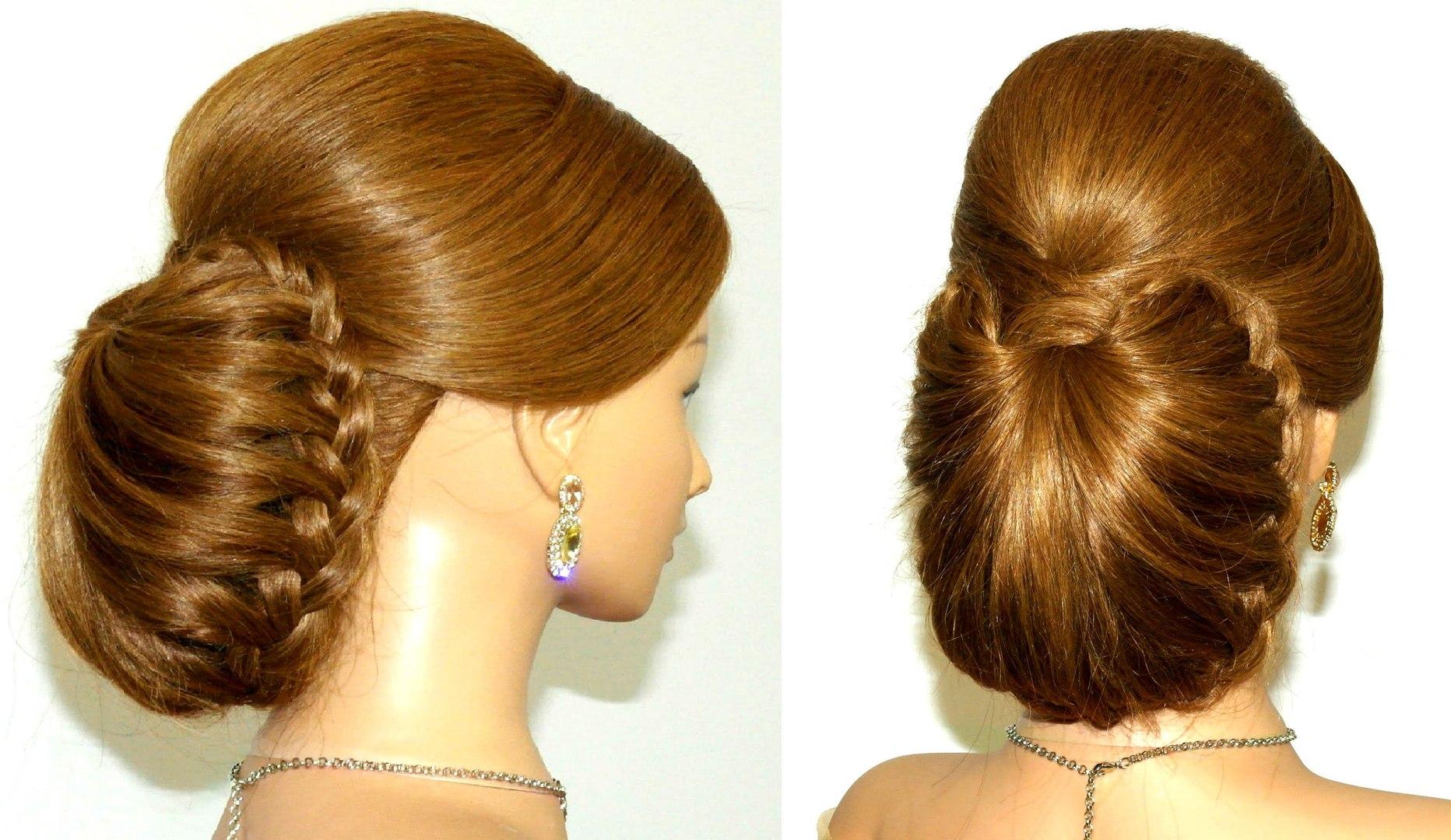 easy and stylish hair bun