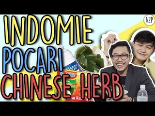 [Makan Gila] Indomie + pocari + chinese tradisional herb (Crazy Eat)