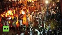 Inde : des centaines de blessés dans une fête ancestrale où il faut se donner des coups de bâton