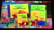 Closing To Elmos World: Dancing, Music, And Books 2000 VHS