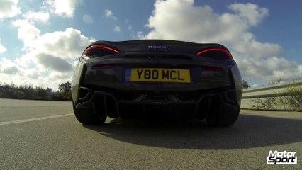 McLaren 570S : plus rapide qu'une 911 Turbo !