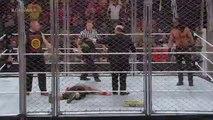 WWE RAW: John Cena vs. Seth Rollins - Steel Cage Match Dec, 2014 - HQ-Video