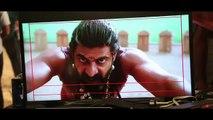 Rana Dagubatti As Bhallala Deva | Baahubali - The Beginning | HTM