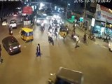 Bus hits Car Accident | Caught By CCTV Cam | Live Accidents in India | Tirupati Traffic Po