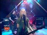 Avril Lavigne don't tell me 2004 live gmtv