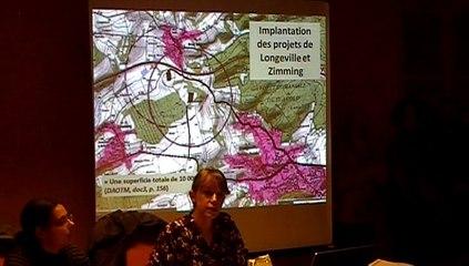"""CM-23 Octobre 2015 -Présentation-collectif """"Non au forage gaz de couche à Longeville - Zimming """""""