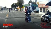 WCC Street Ride HD Motorcycle Stunt Riders Take Over San Fransico & Oakland CA Blox Starz