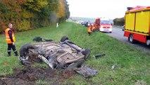 Deux morts et un blessé grave sur l'A26, près de Cambrai