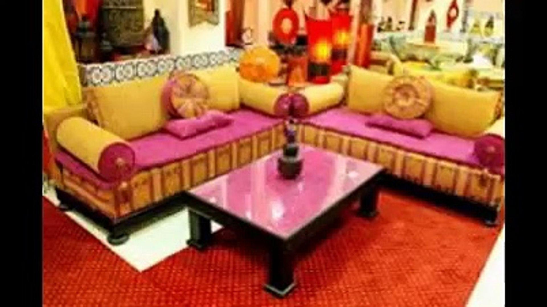 Salon marocain mauve