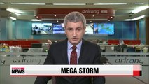 Hurricane Patricia weakens to a Category 2 storm after hitting Mexico