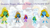Smurfs Finger Family Song Daddy Finger Nursery Rhymes Good Characters Full animated cartoo