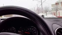 Driving techniques for winter use