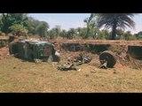 Naxal attack: The IED blast site at Chaulnar, Dantewada