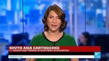 BREAKING - Massive earthquake shakes Afghanistan, India and Pakistan