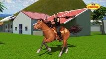 Video Mera Ghoda Mera Ghoda    The Horse    3D Animation    Hindi Nursery Rhyme