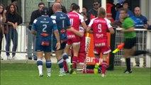Castres-Grenoble: 23-31 - Essai Chris Farrell (GRE) - J6 - Saison 2015/2016