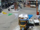 Car Vs Auto Accident | Caught By CCTV Cam | Live Accidents in India | Tirupati Traffic Pol