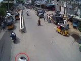 Bike Vs Bike | Caught by CCTV Cam | Live Accidents in India | Tirupati Traffic Police
