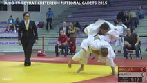 TAPIS 2 - CRITERIUM NATIONAL CADETS 2015 CEYRAT - LIVE 3 (REPLAY) (2015-10-25 08:58:07 - 2015-10-25 15:44:10)