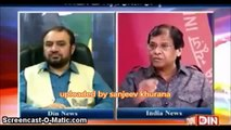 Indian Panelist Manages to put across Hard Hitting Facts on Pakistan Channel   Alle Agba