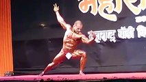 Body builder - Competition India - Man Show off His Body On Bolloywood Song