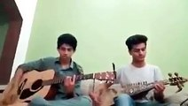 Awesome National Anthem of Pakistan played by these 2 guys