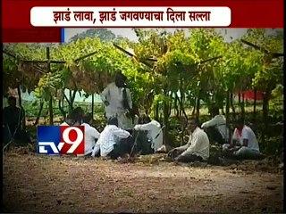 Nana Patekar's  Naam foundation Adopted Dhondalgaon Village, Aurangabad-TV9