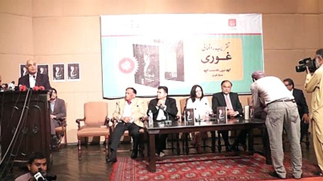 Ghauri Book Launching Ceremony Talk by Khalid Rasool (Part 8/12) on 5th Oct 2015 at Al-Hamra Arts Council Lahore