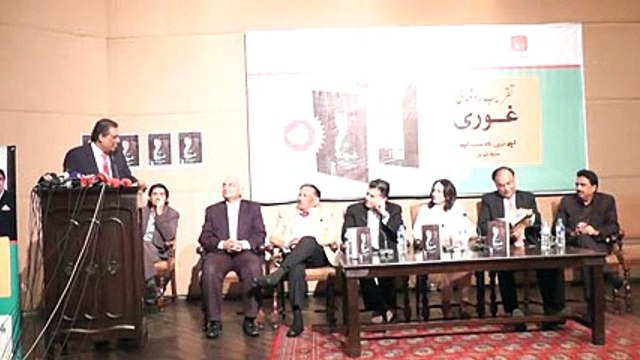 Ghauri Book Launching Ceremony Talk by Sohail Warraich (Part 9/12) on 5th Oct 2015 at Al-Hamra Arts Council Lahore