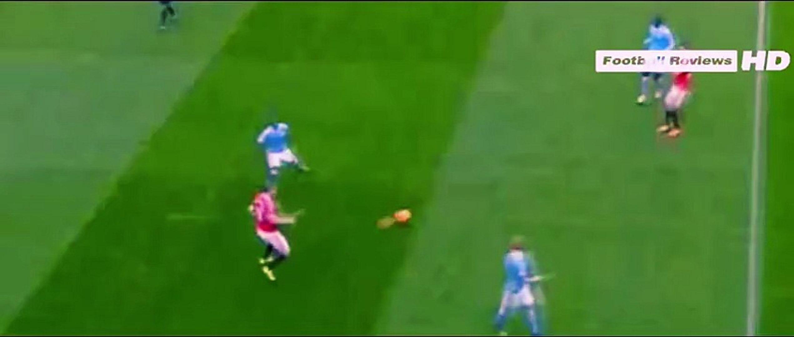 Manchester United vs Manchester City 2015 - Anthony Martial Crazy Skills