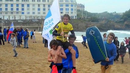 CHAMPIONNATS DE FRANCE DE SURF A BIARRITZ - DIMANCHE 25 OCTOBRE 2015