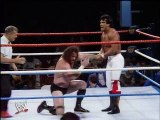 WWF Wrestlemania II - Hercules Vs. Ricky Steamboat