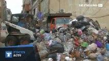 Inondations au Liban: les rues transformées en rivières d'ordures
