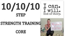 Low Impact Cardio Workout ** Step**Strength Training**Core ** ( Aerobics workout for weight loss)