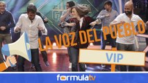 La Voz del Pueblo VIP: Los famosos opinan si Soraya hizo el ridículo en 'El hormiguero'