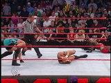 Randy Orton vs Booker T vs Rob Van Dam (Raw 9 February 2004)