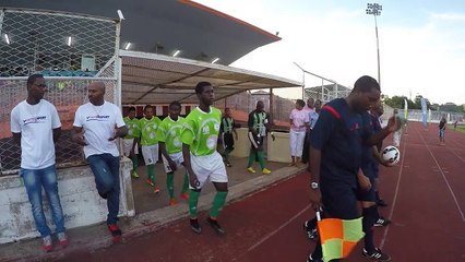 Première finale de la coupe de France (zone Guyane)