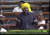 """""""Achy Din Kab Any Waly Hain"""" ? - This Punjabi MLA in Indian Lok Sabha Rips Apart Modi with His Punjabi Poetry."""
