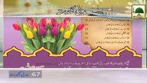 Pani Peenay Kay Adaab-Haji Ubaid Attari - Madani Guldasta 67