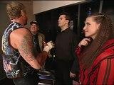 Stephanie McMahon, Shane McMahon, Paul Heyman and Diamond Dallas Page Backstage Segment