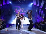 WCW Tag Team Championship: The Hardy Boyz (w/ Lita) © vs. Lance Storm and The Hurricane (w/ Mighty Molly and Ivory)
