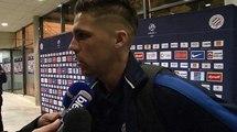 Jonas Martin après MHSC 2-0 SC Bastia