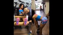 DAIANE MACEDO - Fitness Model: Exercises and Workouts for Butt, Legs and Thighs @ Brazil