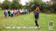 Insolites - Carnac : une plongée dans la Préhistoire - 2015/10/26