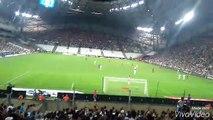 ambiance stade vélodrome match de foot OM