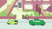 KZKCARTOON TV - Mr Bean - Wheelchair Fun